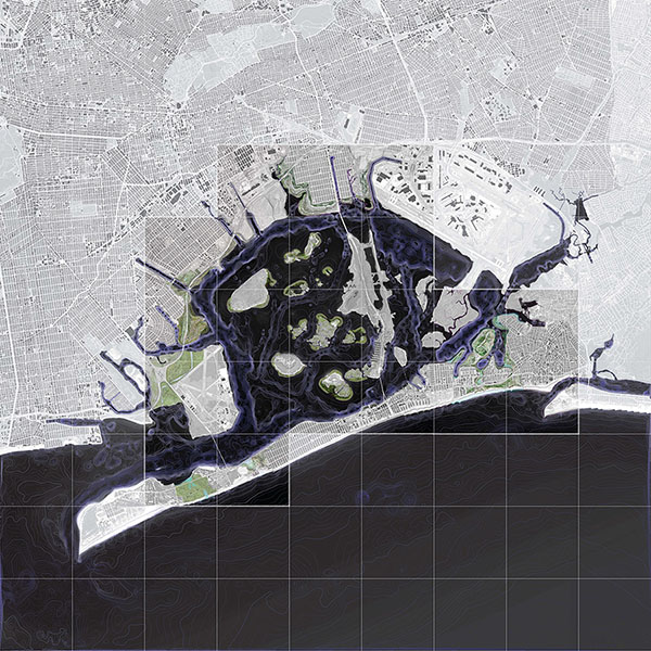 Jamaica Bay - rendered plan