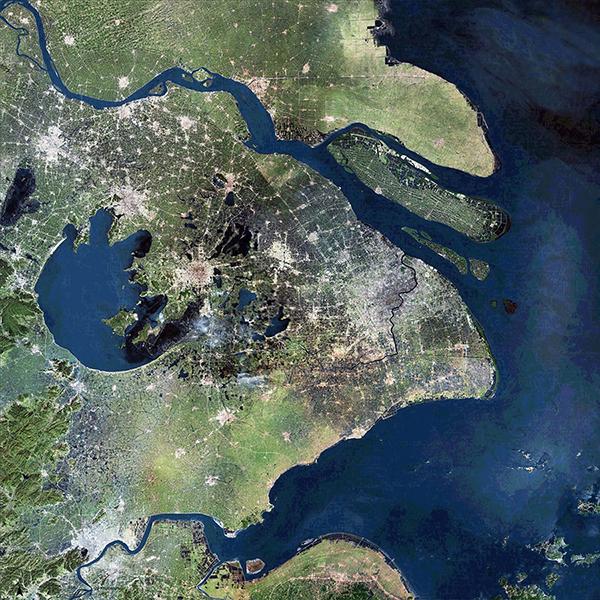 aerial view - Yangtze