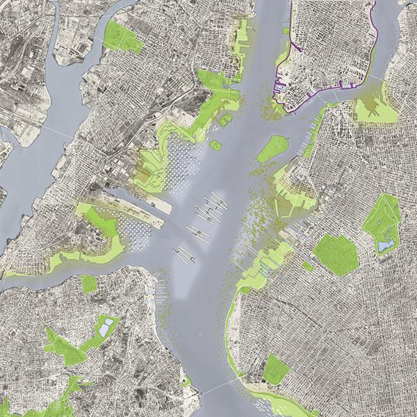 map: New York Harbor