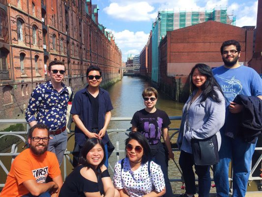Exploring the canals, infrastructure, and architecture in the city of Hamburg, Germany, during the summer 2017 Berlin program.