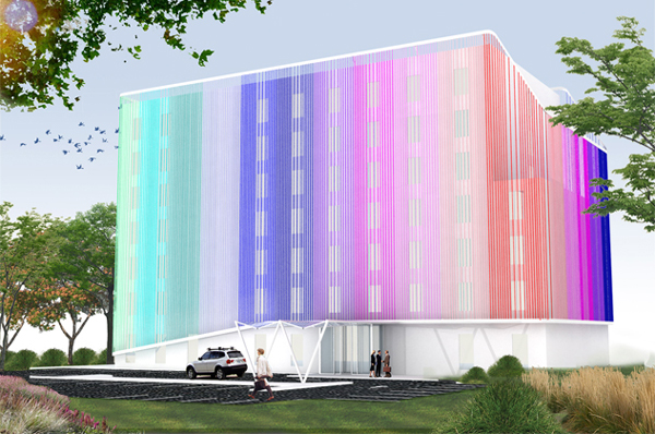 architectural project by Julio Salcedo-Fernandez