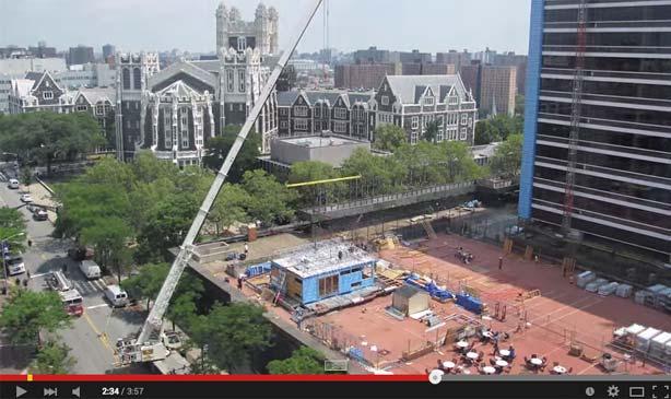 video still of roofpod's creation