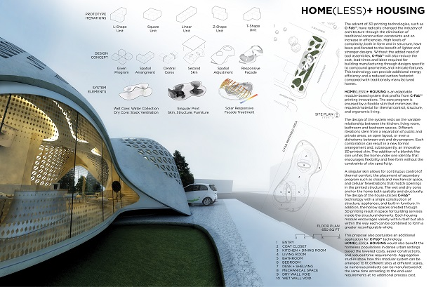 Freeform Design Challenge finalist - HOME(less)+ Housing