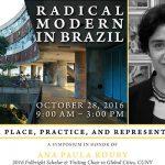 flyer: Radical Modern in Brazil