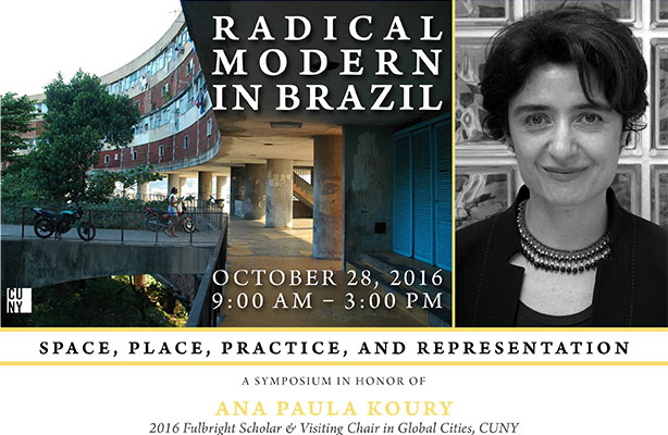 flyer: Radical Modern in Brazil