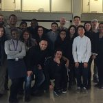 group photo: M Arch first-years, fall 2015