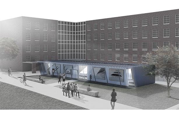 rendering of REACH: Brooklyn College Art Gallery