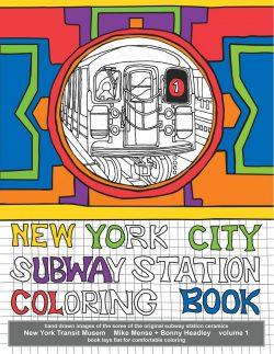 NYC Subway Coloring Book