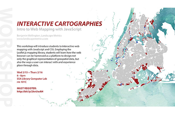 flyer: Interactive Cartographies