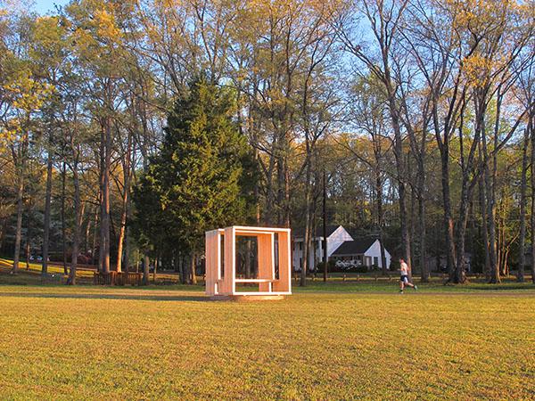 photo: outdoor sculpture