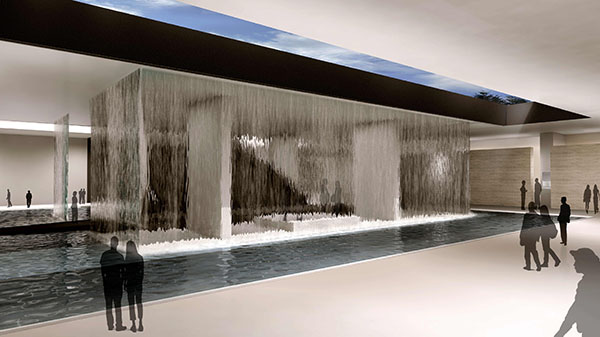 rendering: water feature