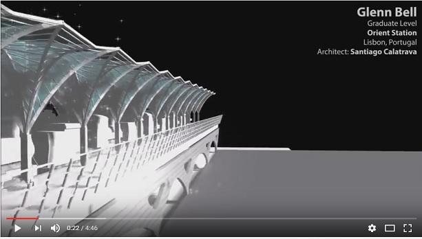 still: Digital Constructs video, Orient Station, Lisbon