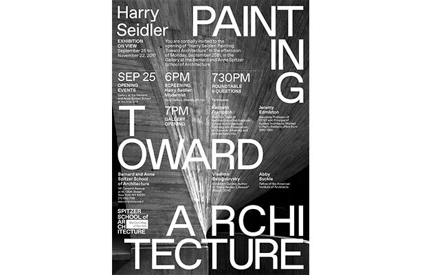 poster: Painting Toward Architecture