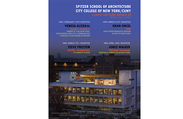 Spring Roofpod Lectures flyer