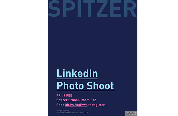 Linkedin Photo Booth Spitzer Flyer