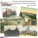 a flyer of various postcards