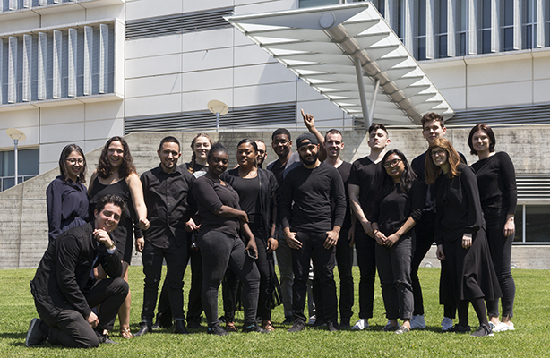 2018 Graduates. Photo by Jeremy Ianucci.