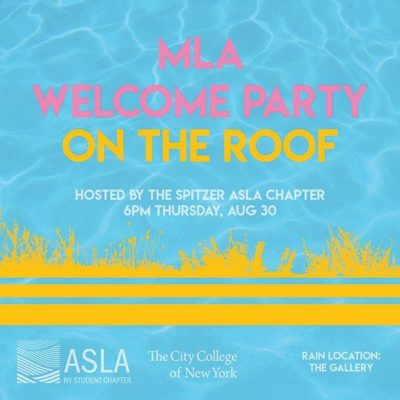 2018 MLA Welcome Party Flier