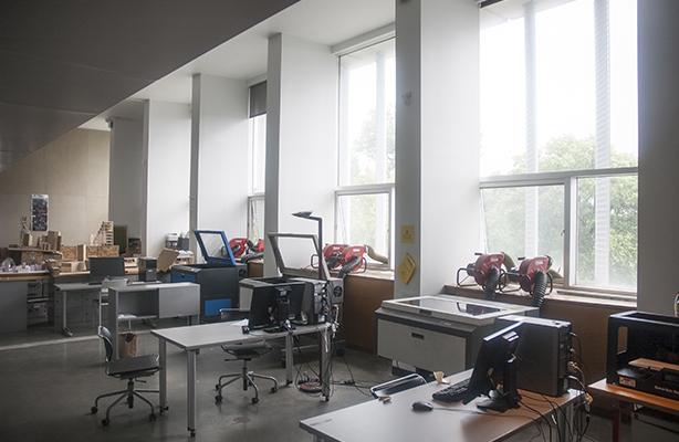 lasercutting room