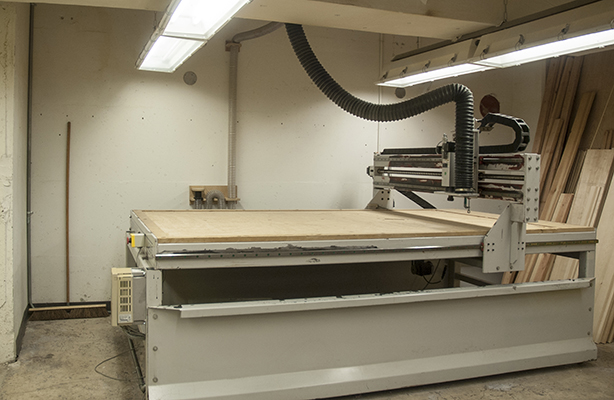 photo of cnc machine