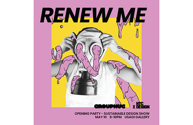 Renew Me party graphic