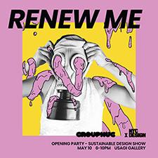 Renew Me party graphic