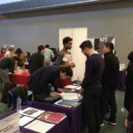 Students and alumni in action at 2018 Career Fair