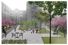 Eastchester Terraces design concept