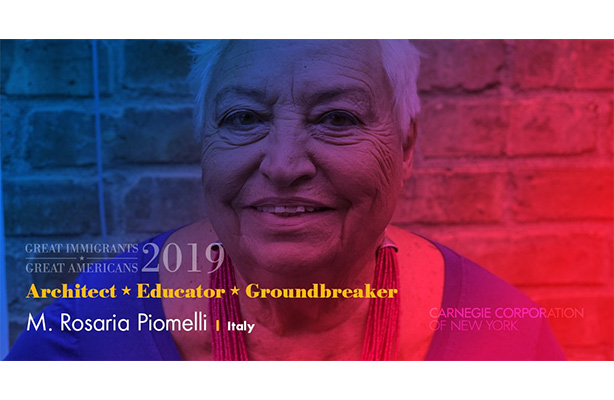 Rosaria Piomelli: Architect, Educator, Groundbreaker