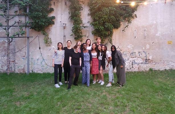 group photo CCNY Berlin