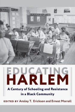book cover: Educating Harlem