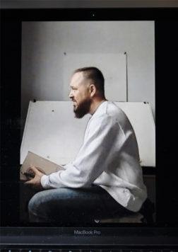 Jeffery J. Roberson Side Portrait