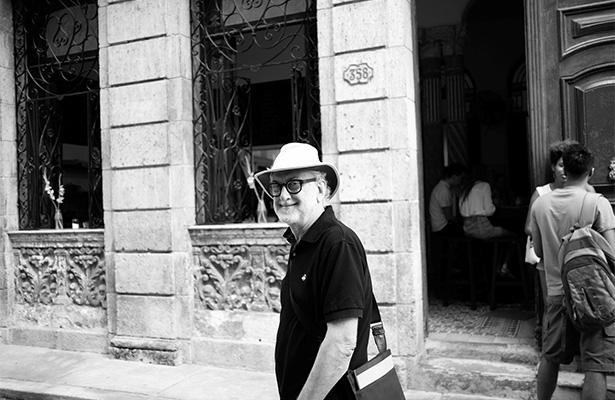 Michael Sorkin in Havana