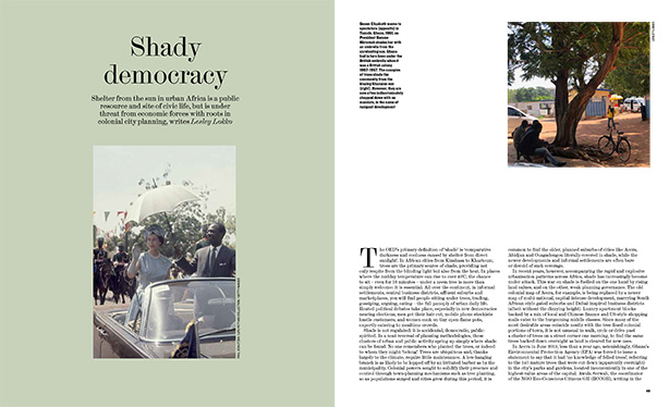 Architectural Review spread: Shady Democracy article