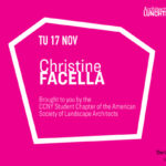 Christine Facella Lunchtime Lecture Announcement