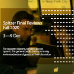 Final Reviews Announcement Fall 2020 3