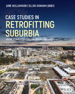 book cover: Case Studies Retrofitting Suburbia