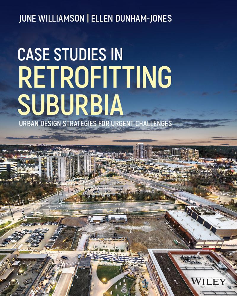 book cover: Case Studies Retrofitting Suburbia