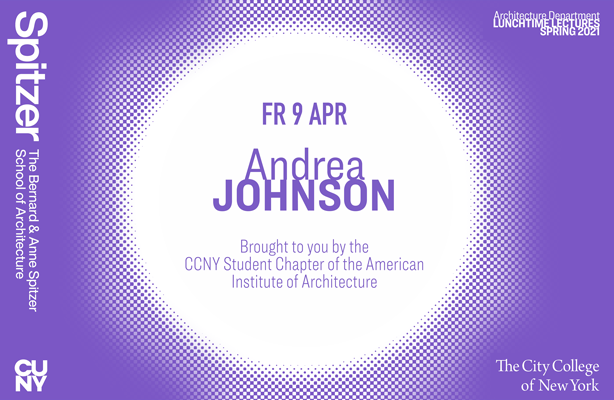 Andrea Johnson Lunchtime Lecture Poster