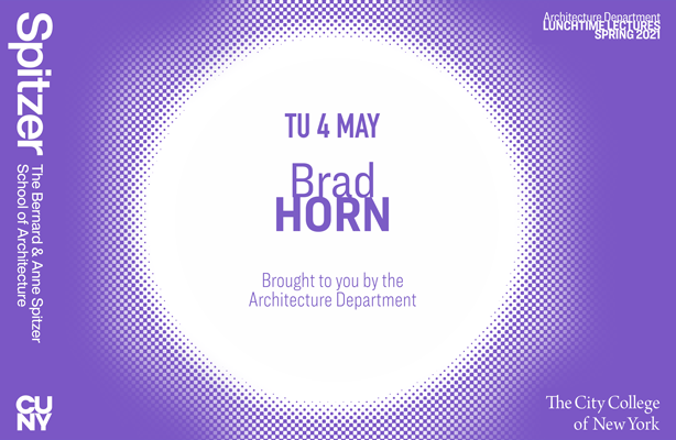 Brad Horn Lunchtime Lecture Poster