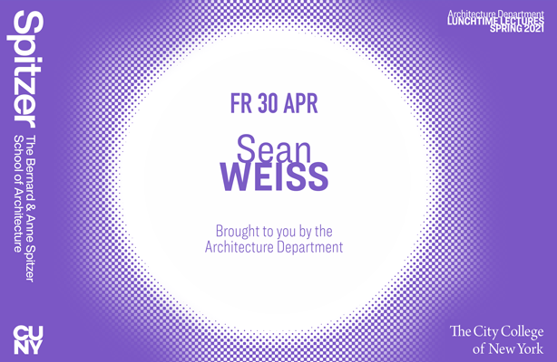 Sean Weiss Lunchtime Lecture Poster