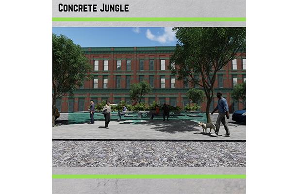 Concrete Jungle 4 614 X 400