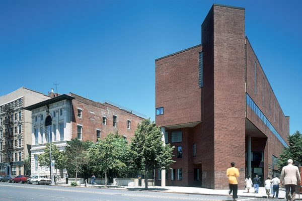 The Schomburg Center for Research in Black Culture on Malcolm X Boulevard in Harlem
