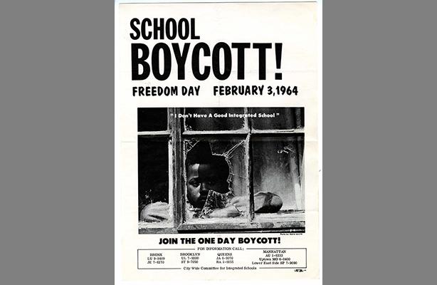 City Wide Committee For Integrated Schools, School Boycott! Flier