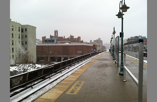 Photo: IS 201 from 125th Street Metro North Station, 2014