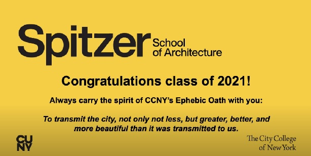 Graduate Toast congratulatory video screen shot