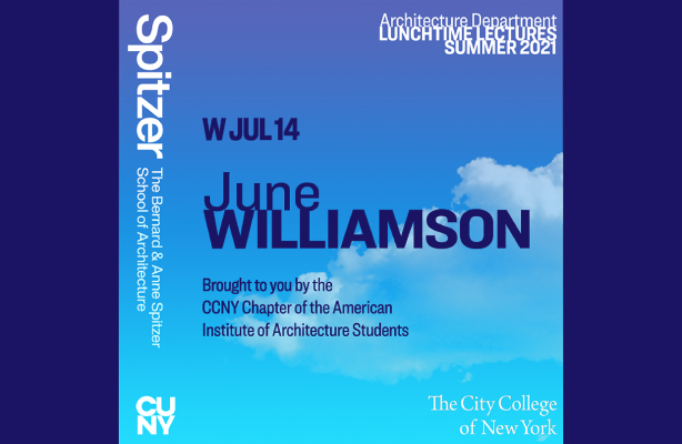 Announcement for Lunchtime Lecture with June Williamson