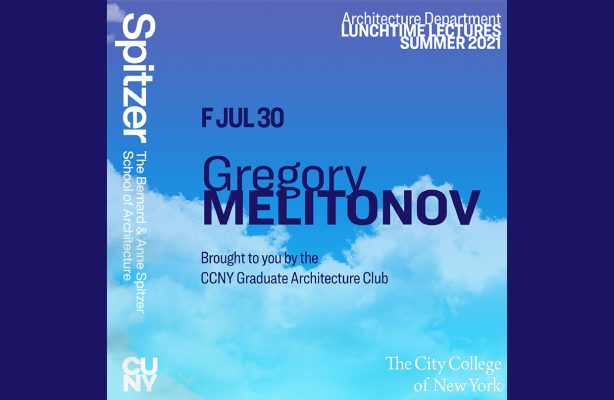 Announcement for Lunchtime Lecture with Gregory Melitonov