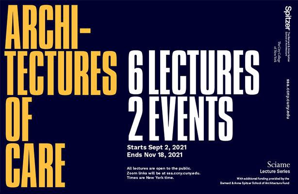 Fall 2021 Sciame Lecture Series Cover