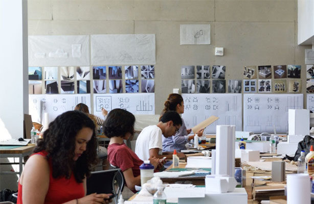 Photo: Students Working In Studio